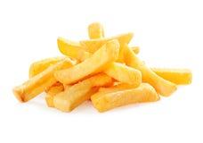 Cuñas fritas de la patata fotografía de archivo