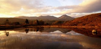 Cu del parque nacional del districto del lago imágenes de archivo libres de regalías