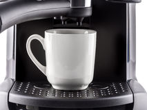 Cu des Kaffees Lizenzfreie Stockfotografie