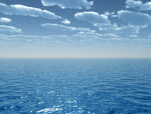 Céu do mar Foto de Stock