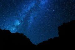 Céu nocturno Fotografia de Stock Royalty Free
