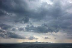 Céu tormentoso Foto de Stock