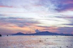 Cua戴海滩,会安市市,广南省,越南 库存照片