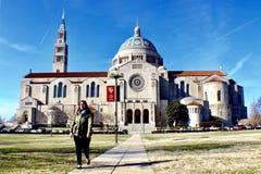 CUA. Cathedral university at brookland Washington, D.C Stock Image
