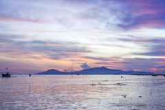 Cua Dai Beach, ciudad de Hoi An, provincia de Quang Nam, Vietnam Imagen de archivo libre de regalías