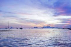 Cua Dai Beach, ciudad de Hoi An, provincia de Quang Nam, Vietnam Foto de archivo libre de regalías