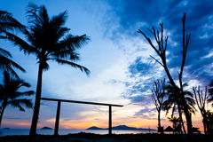 Cua Dai Beach - Hoi An Royaltyfria Foton