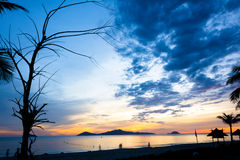 Cua Dai Beach - Hoi An Fotografia Stock