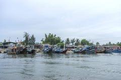Cua Dai Beach, ville de Hoi An, province de Quang Nam, Vietnam Image stock