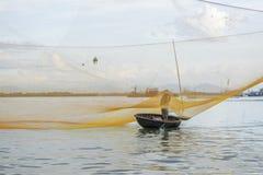 Cua Dai plaża, Hoi miasto, Quang Nam prowincja, Wietnam zdjęcie royalty free