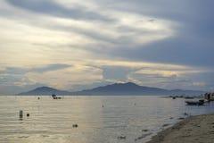 Cua Dai plaża, Hoi miasto, Quang Nam prowincja, Wietnam obrazy stock