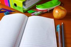Cuaderno Imagen de archivo libre de regalías