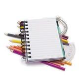 Cuaderno Fotografía de archivo libre de regalías