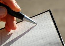 Cuaderno #3 Imagen de archivo libre de regalías