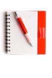 Cuaderno Fotos de archivo libres de regalías