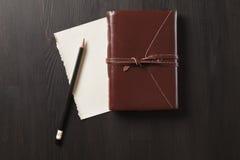 Cuaderno 1 Foto de archivo libre de regalías