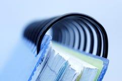 Cuaderno. Imagen de archivo
