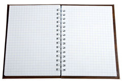 Cuaderno. Imágenes de archivo libres de regalías