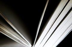 Cuaderno abierto fotos de archivo libres de regalías