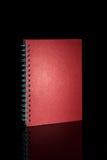 Cuaderno aislado Imagen de archivo libre de regalías
