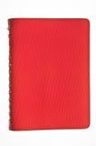 Cuaderno anaranjado de cubierta Imagenes de archivo