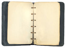 Cuaderno antiguo gastado Fotografía de archivo