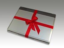 Cuaderno con el arqueamiento Imágenes de archivo libres de regalías
