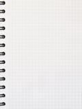 Cuaderno con wireo Fotografía de archivo
