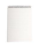 Cuaderno de la carpeta. Fotografía de archivo libre de regalías