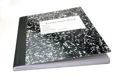 Cuaderno de la composición Imagen de archivo