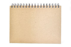 Cuaderno de la cubierta Fotos de archivo libres de regalías