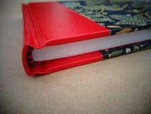 Cuaderno de la encuadernación fotografía de archivo