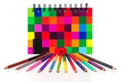 Cuaderno de la escuela Fotografía de archivo libre de regalías