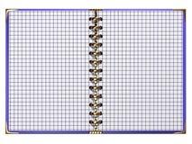 Cuaderno de lujo Foto de archivo libre de regalías