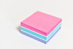 Cuaderno de notas rayado Fotografía de archivo