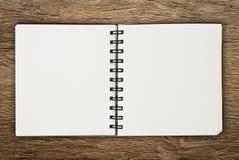 Cuaderno de papel Fotografía de archivo