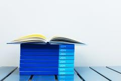 Cuaderno del año 2014 Imágenes de archivo libres de regalías