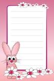 Cuaderno del cabrito con la paginación alineada en blanco Imagenes de archivo