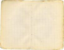 Cuaderno del exUSSR Foto de archivo