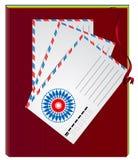 Cuaderno del vector Imagenes de archivo