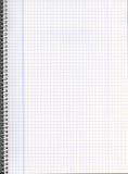 Cuaderno en blanco Fotos de archivo libres de regalías