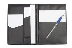Cuaderno en el fondo blanco Imágenes de archivo libres de regalías