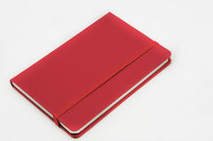 Cuaderno en el fondo blanco Imagen de archivo