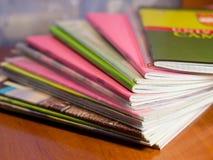Cuaderno en el vector Fotografía de archivo libre de regalías
