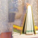 Cuaderno en el vector Fotos de archivo libres de regalías