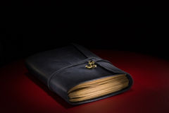 Cuaderno en el vector Fotos de archivo