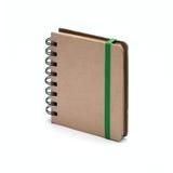 Cuaderno en los fondos blancos Fotos de archivo libres de regalías
