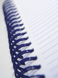 Cuaderno espiral imagen de archivo