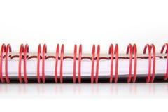 Cuaderno espiral Imagen de archivo libre de regalías