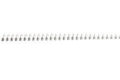 Cuaderno espiral de papel Imagen de archivo